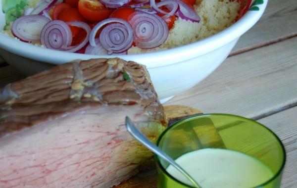 Roastbeef con Cous-cous